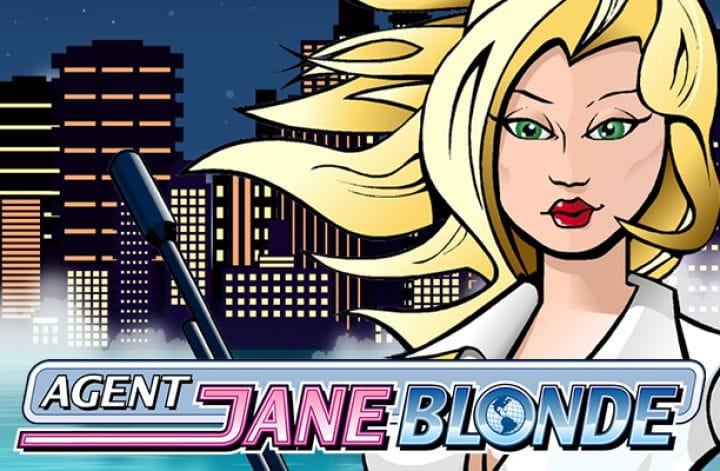 Agent Jane Blonde Slots Mega Reel