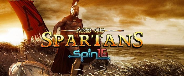 Age Of Spartans Spin 16 Logo