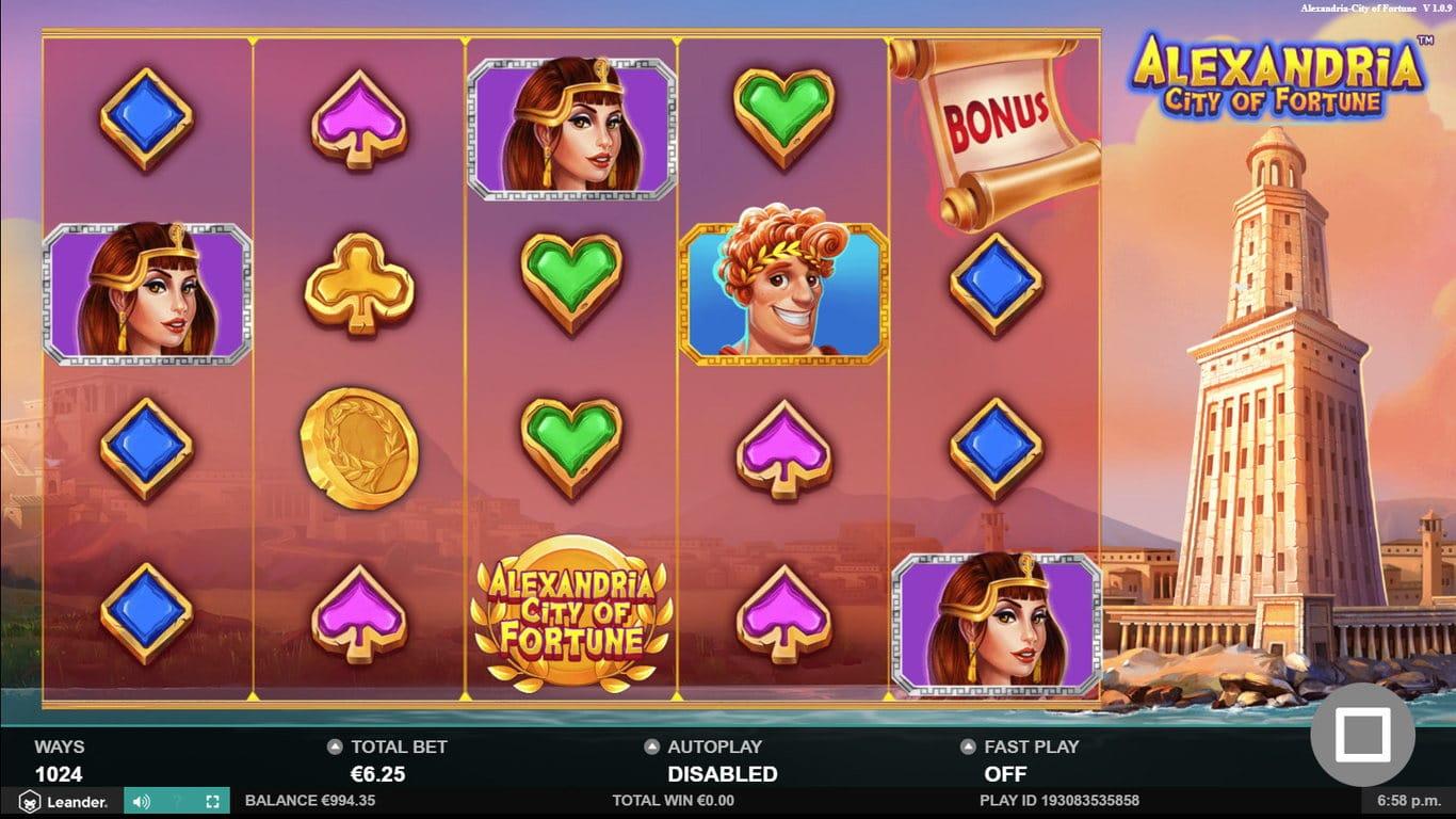 Alexandria City of Fortune Slots Online