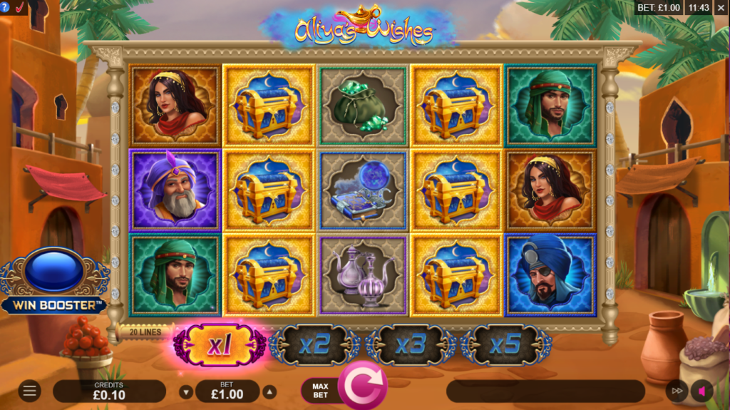 Aliya's Wishes Slot Game