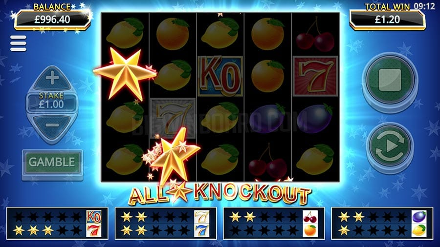 All Star Knockout Slots Online
