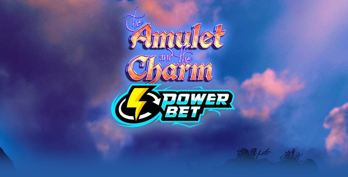 Amulet and the Charm Power Bet slot logo