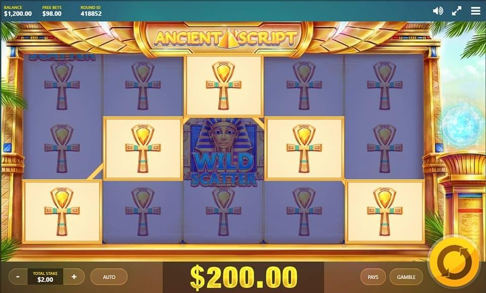 Ancient Script Slot Win