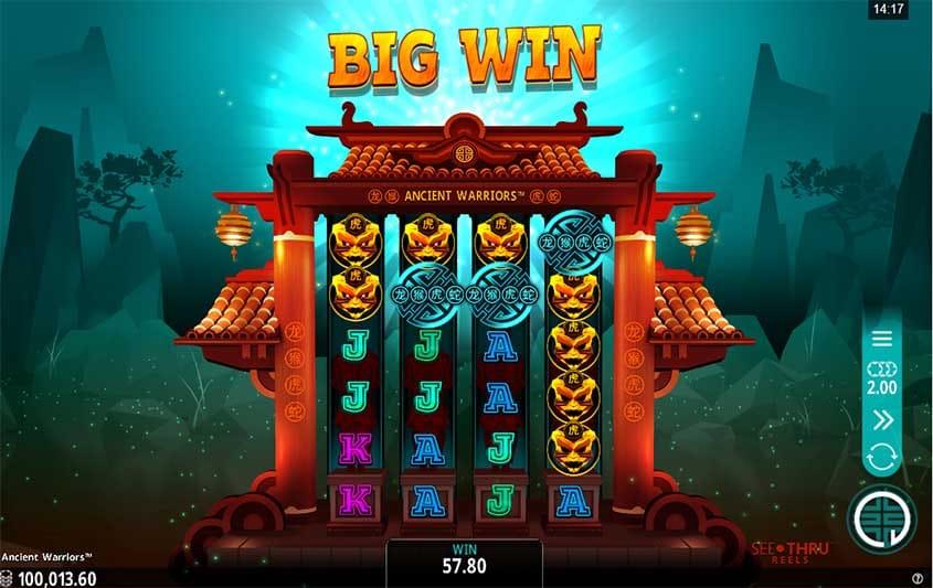 Ancient Warriors Slot Big Win