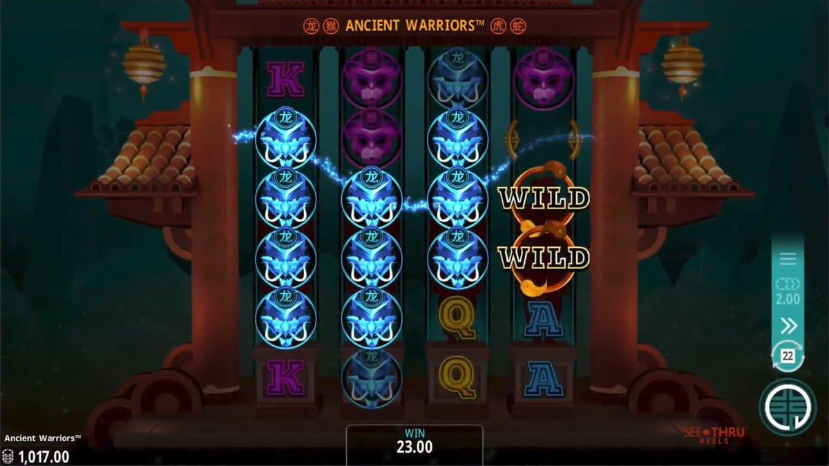 Ancient Warriors Slots UK