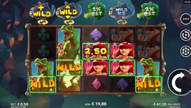 Anderthals Slots Online