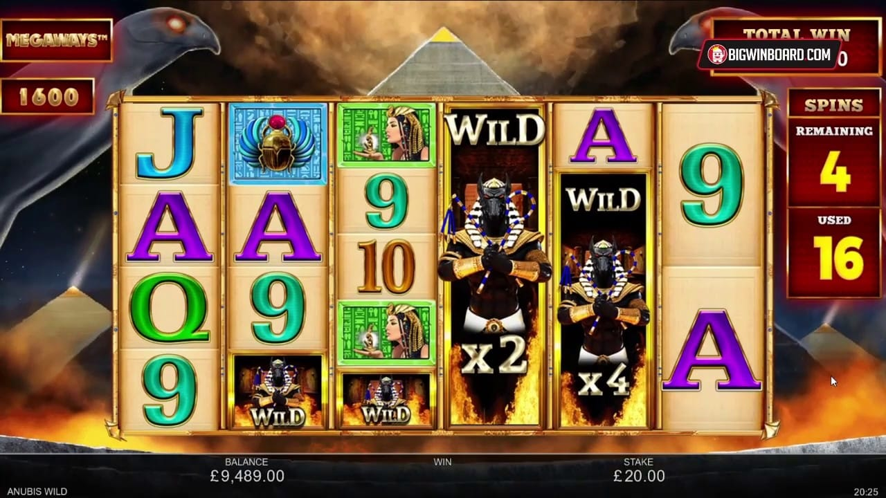 Anubis Wild MegaWays Slot Game