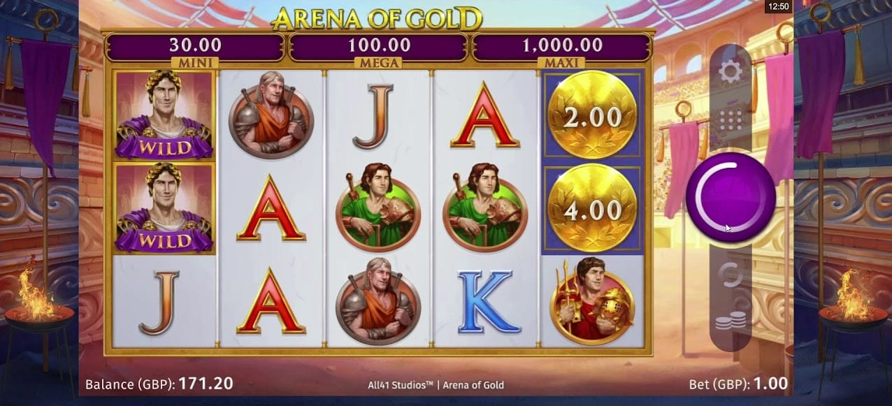 Arena of Gold Slots Online