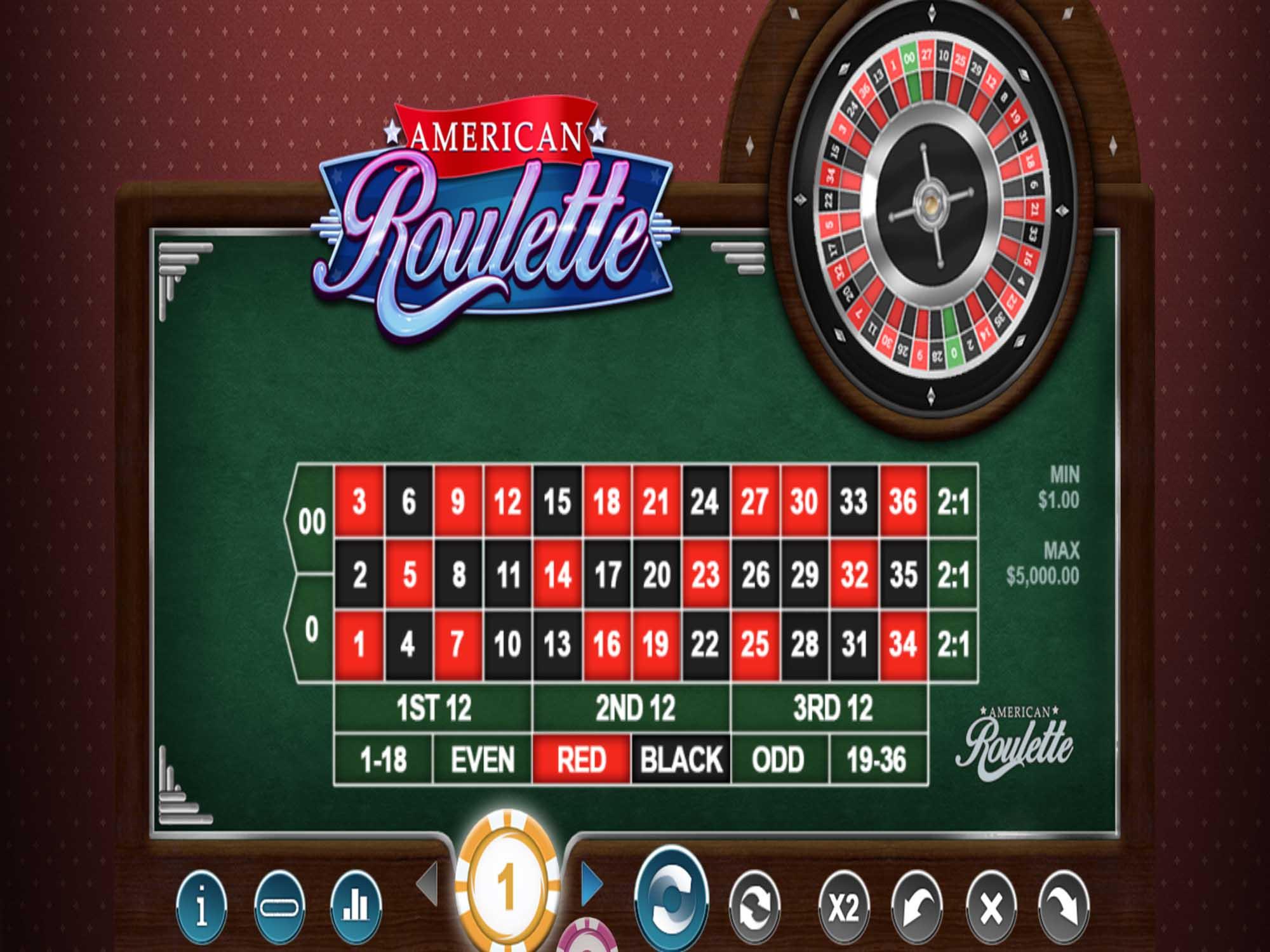 American Roulette Mega Reel