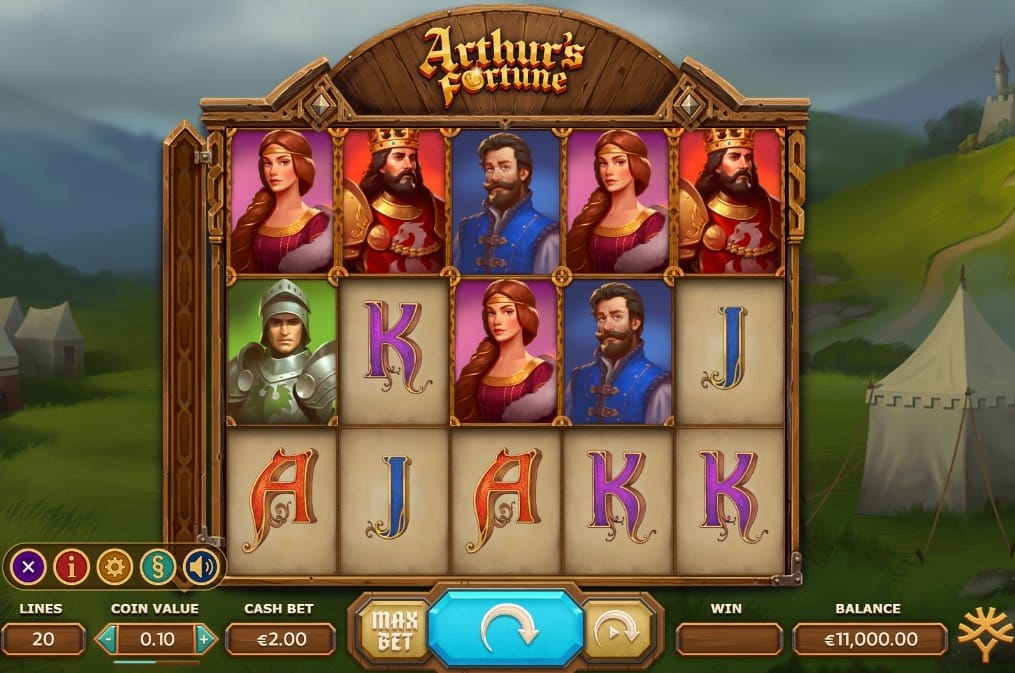 Arthur's Fortune Slot Game