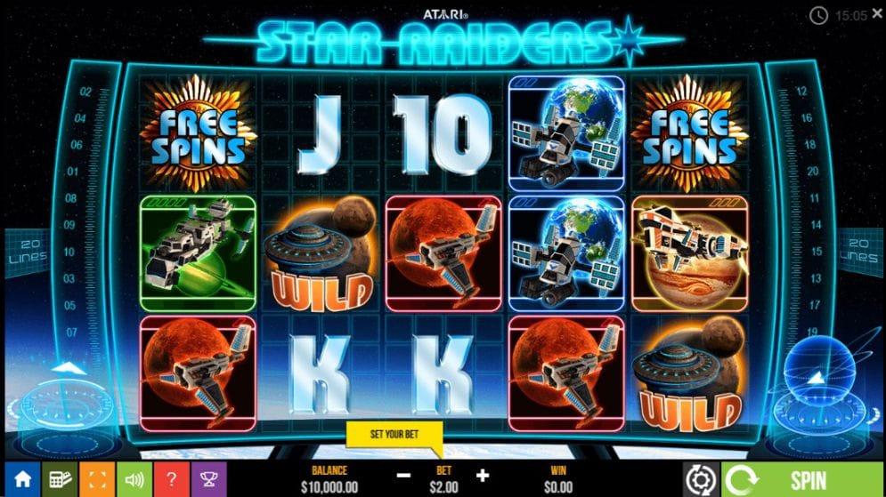 Star Raiders Slots Casino