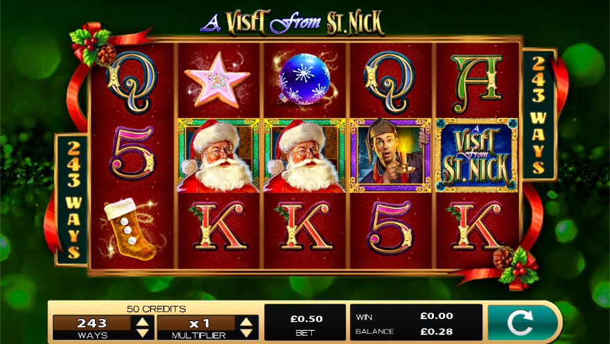 A Visit From St Nick Slots Game