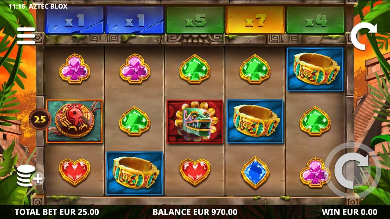 Aztec Blox Slots Game