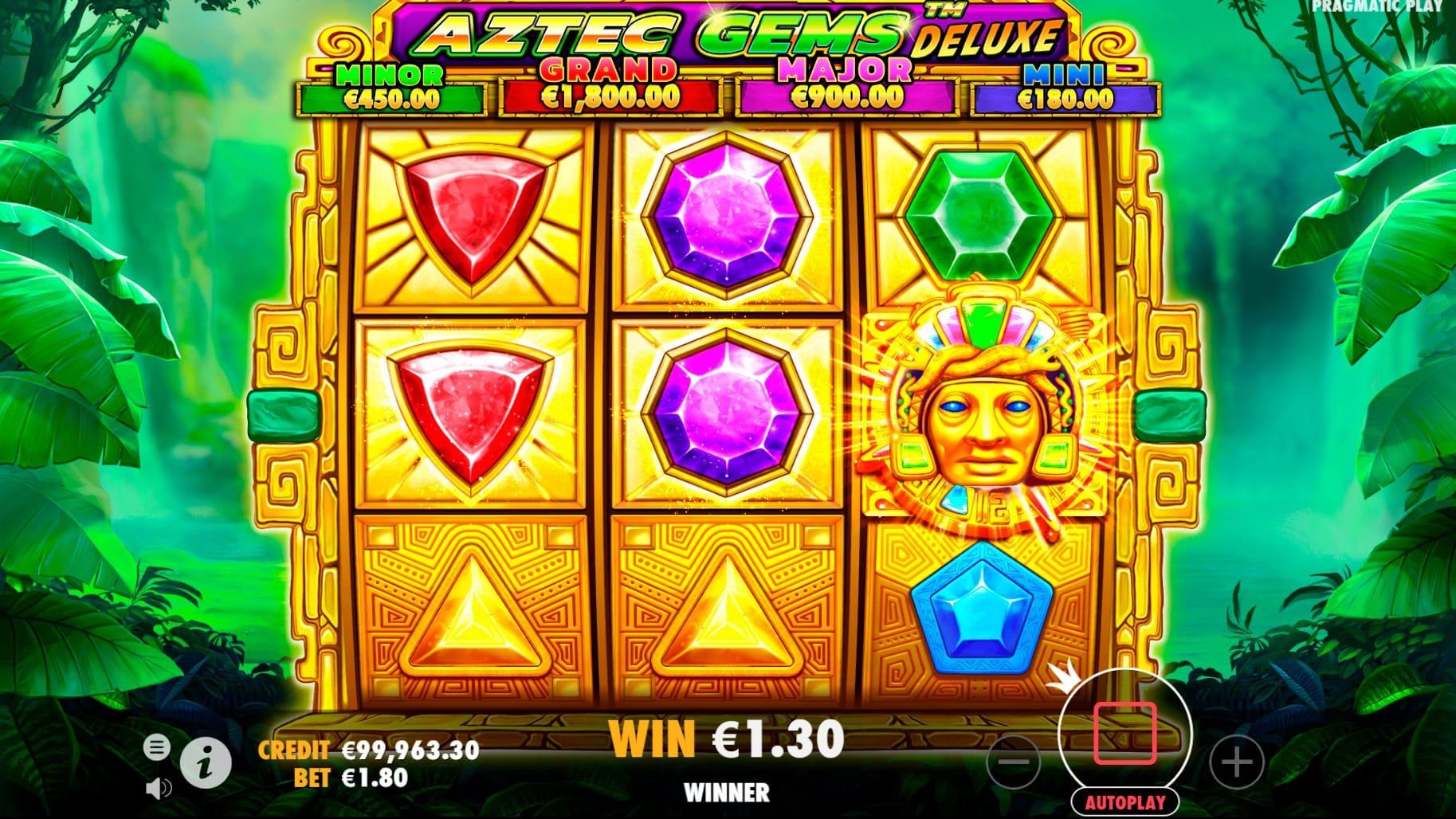 Aztec Gems Deluxe Slot Games