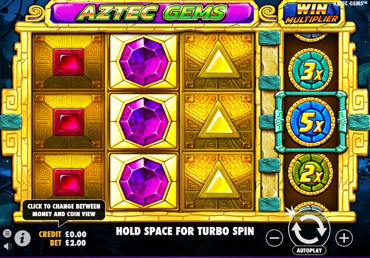 Aztec Gems Gameplay