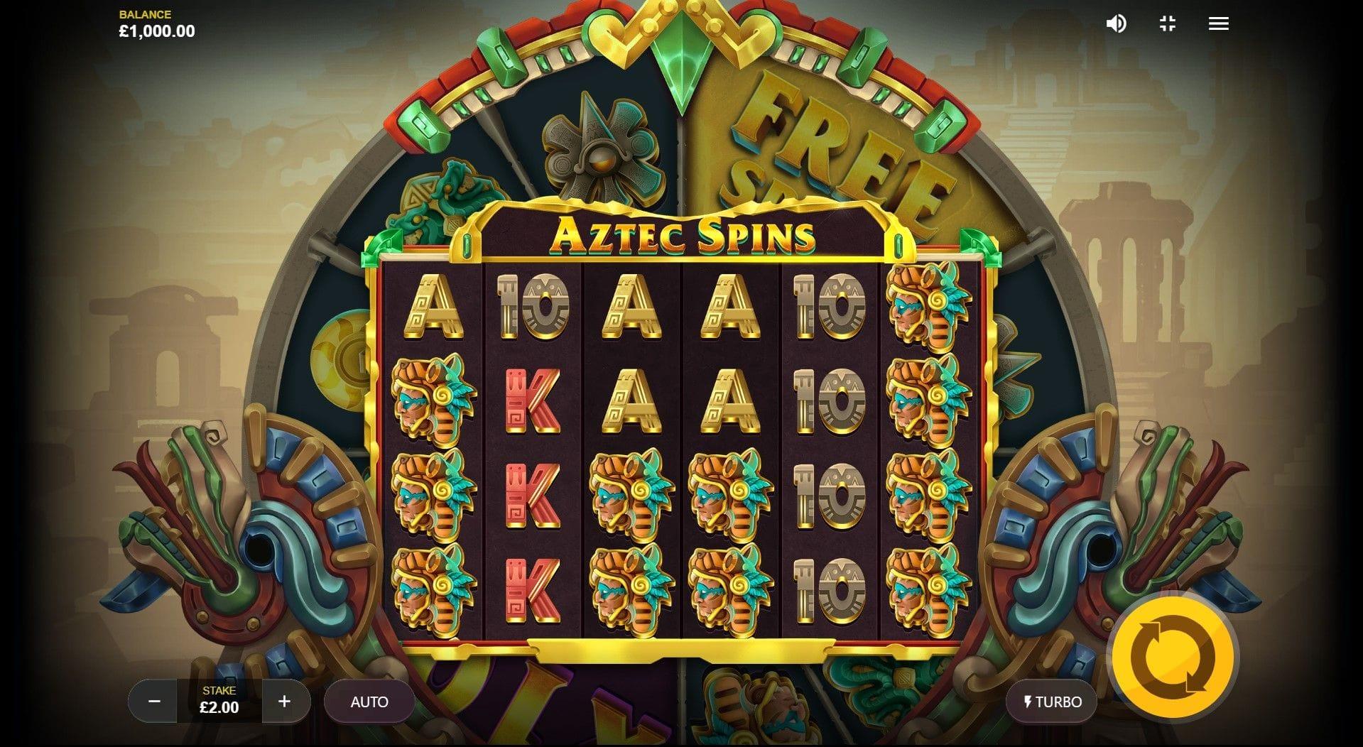 Aztec Spins Slot Game