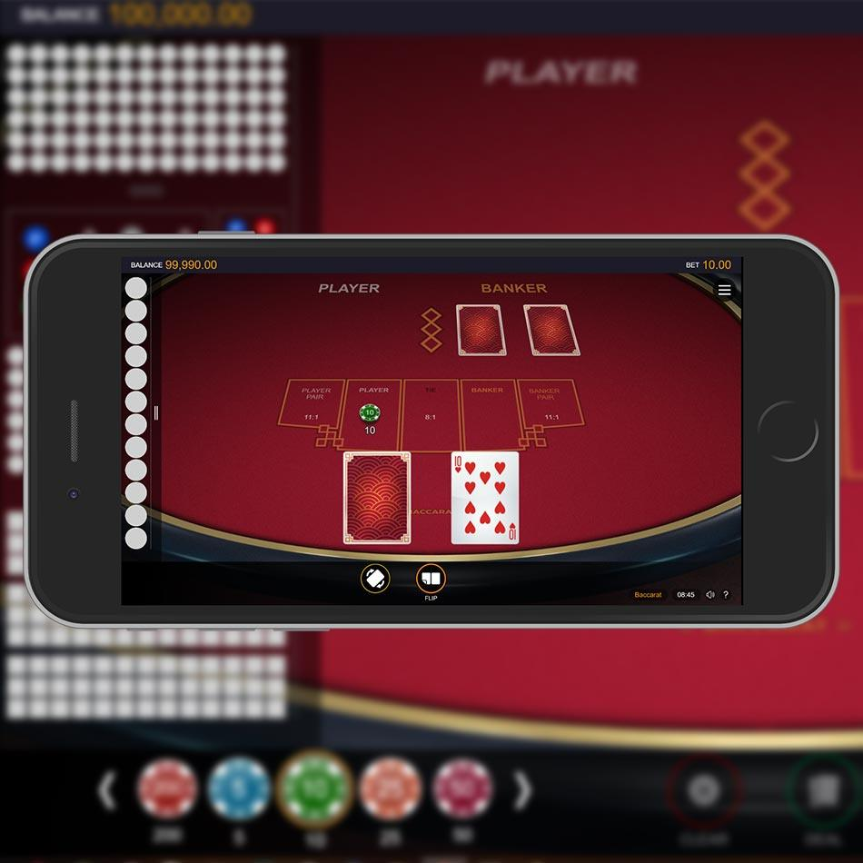 Baccarat Mobile Gaming