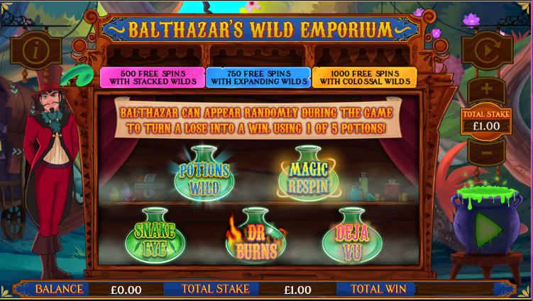 Balthazars Wild Emporium Gameplay