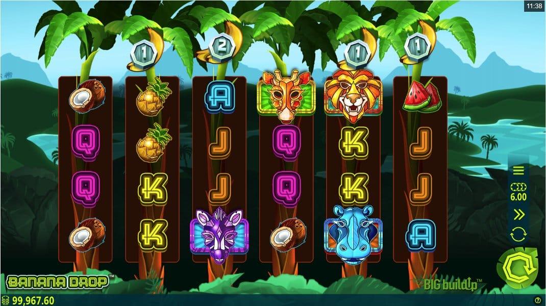 Banana Drop Slots Game