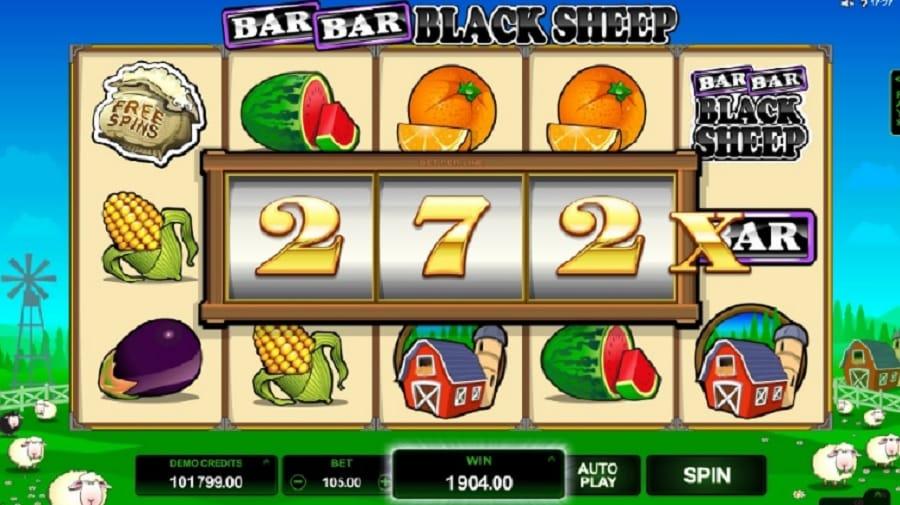 Bar Bar Black Sheep slot screenshot