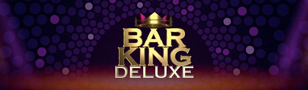 Bar King Deluxe Slot Logo Mega Reel