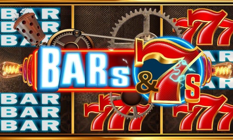 Bars & 7s Slot Logo Mega Reel