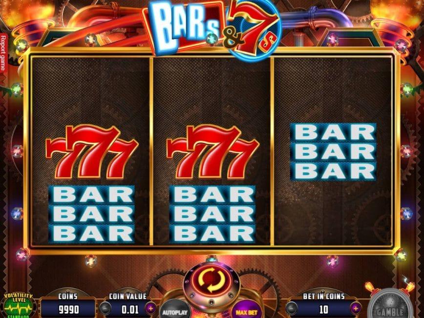 Bars & 7s Slots Reels
