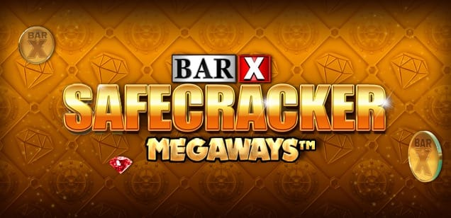 Bar-x Safecracker logo UK slot