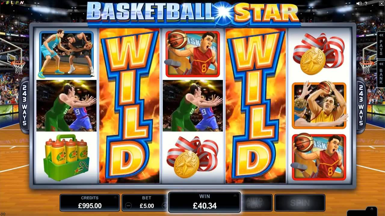 Screenshot from Basketball Star slot