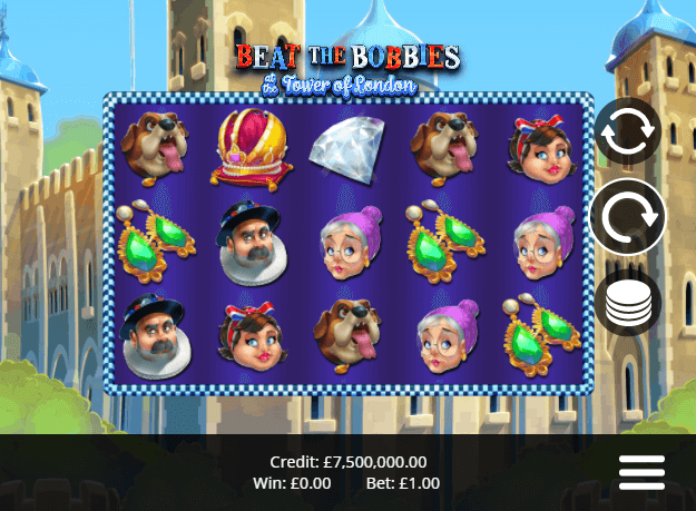 Beat the Bobbies at the Tower of London Slots Game