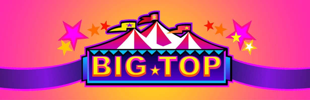 big top slot banner mega reel