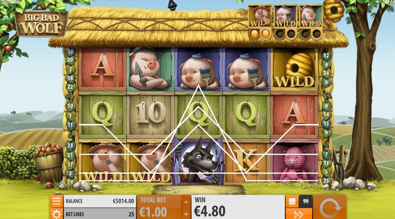 Big Bad Wolf Slots UK