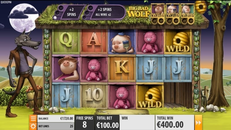 Big Bad Wolf Slots Game