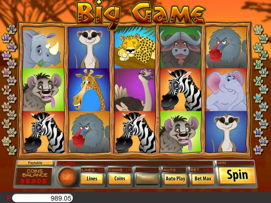 Big Game Slots Game