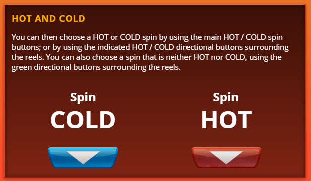 Big Game Spin 16 Hot And Cold