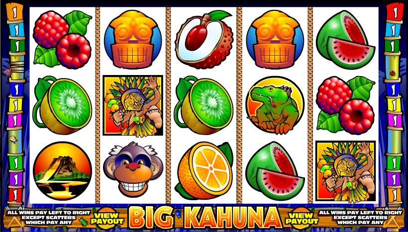 big kahuna online slot gameplay