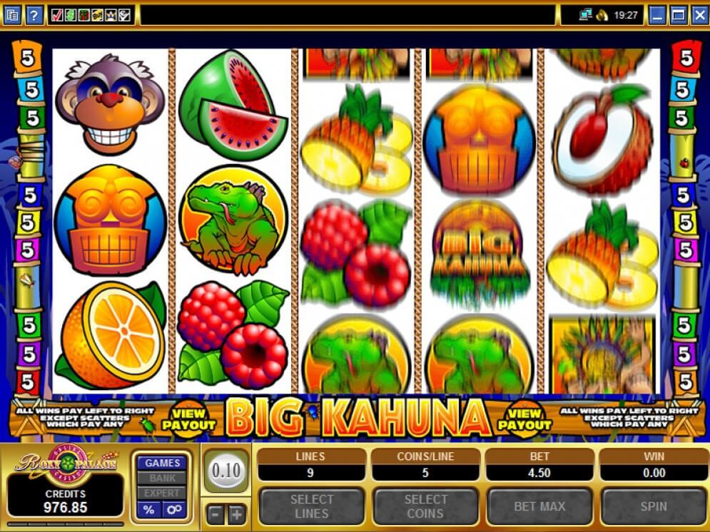 big kanhuna gameplay