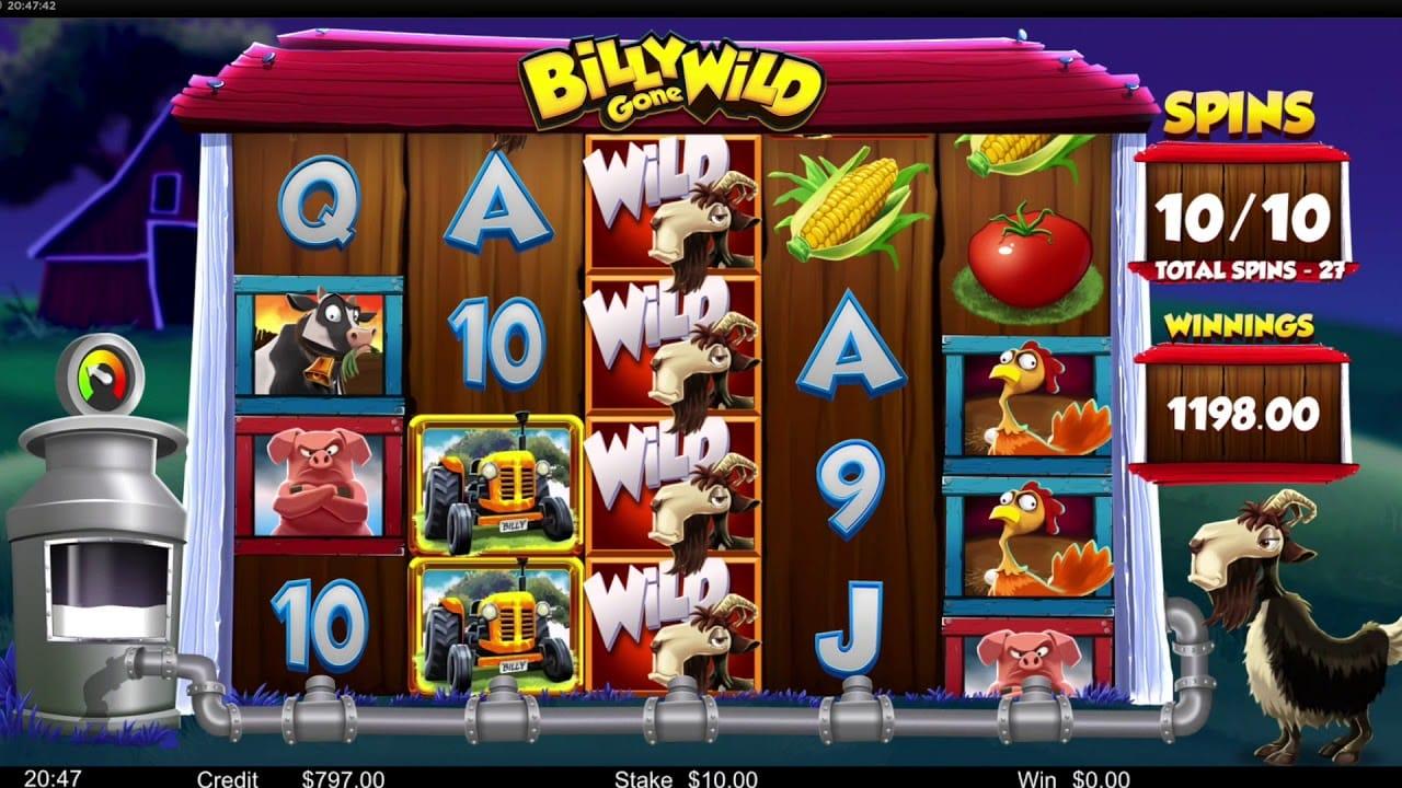 Billy Gone Wild Slot Online