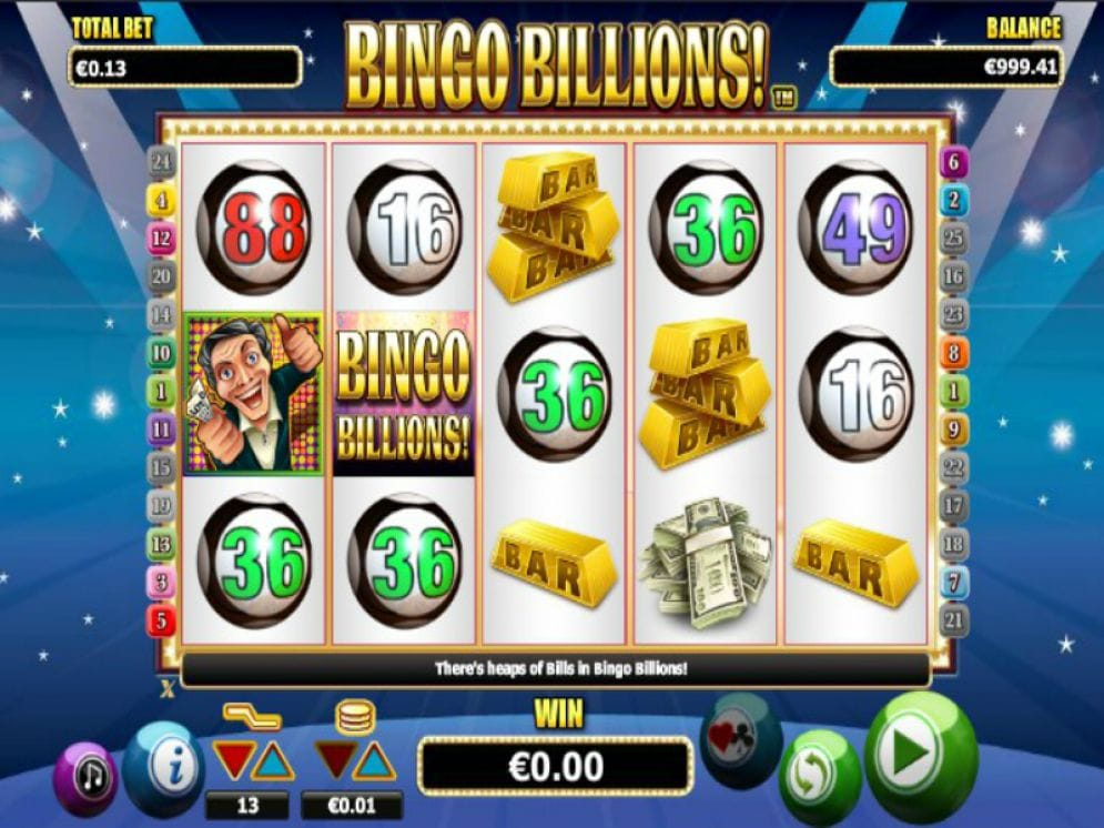 bingo billions gameplay