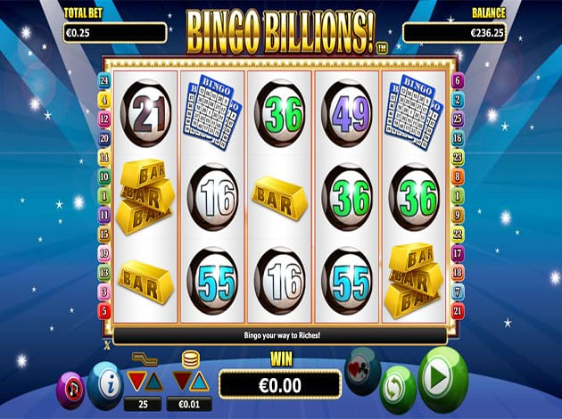 bingo billions online gameplay