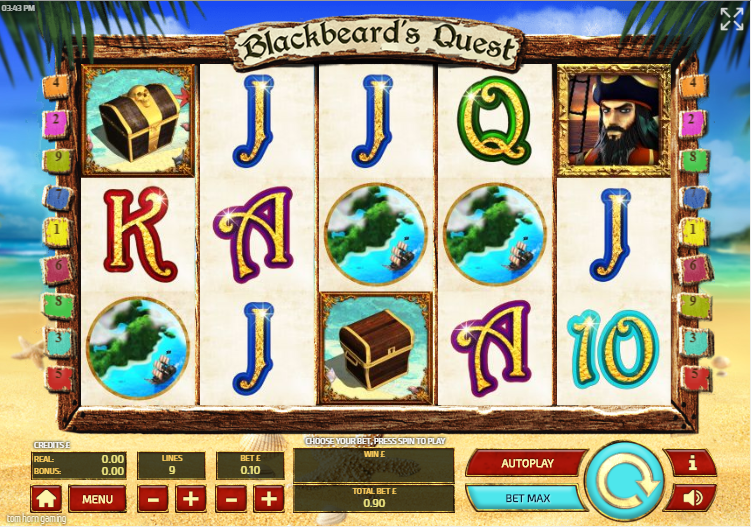 Blackbeards Quest Gameplay