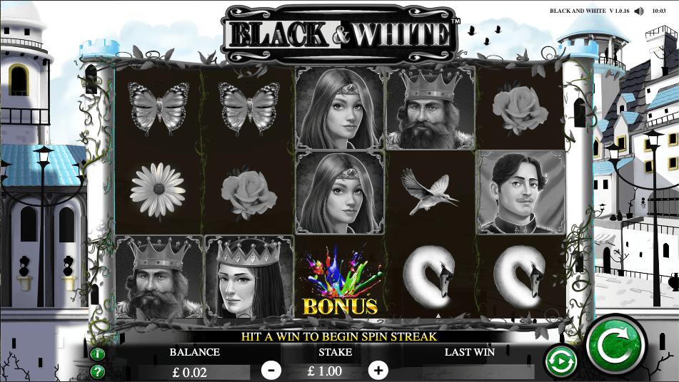 Black and White slot