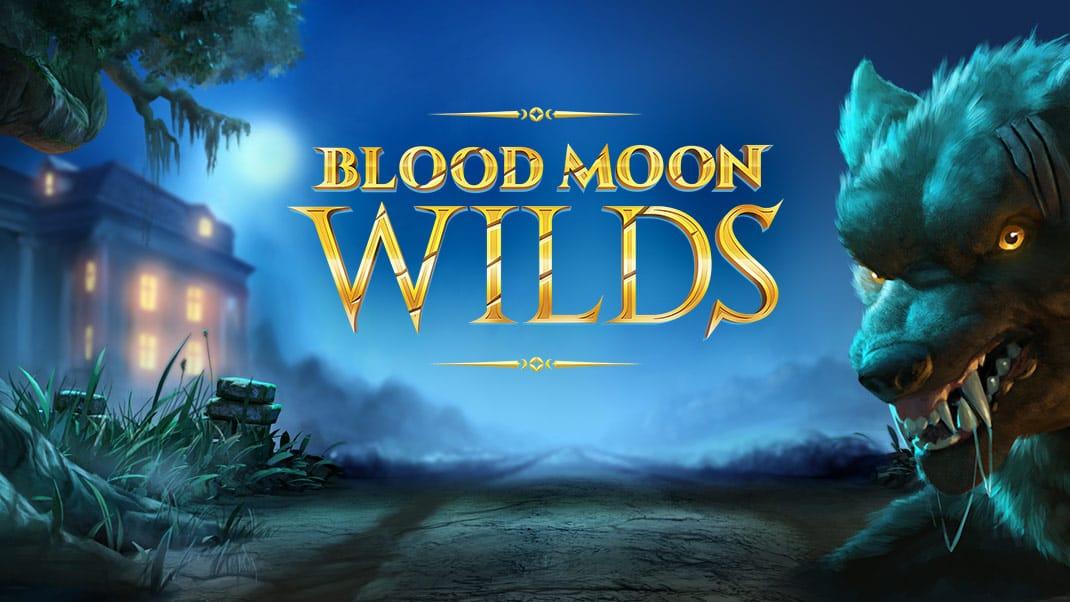 Blood Moon Wilds Slot Logo Mega Reel