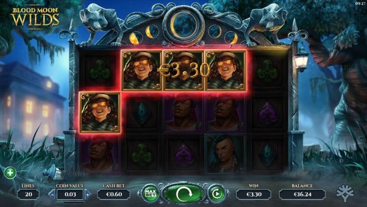 Blood Moon Wilds Slot Gameplay