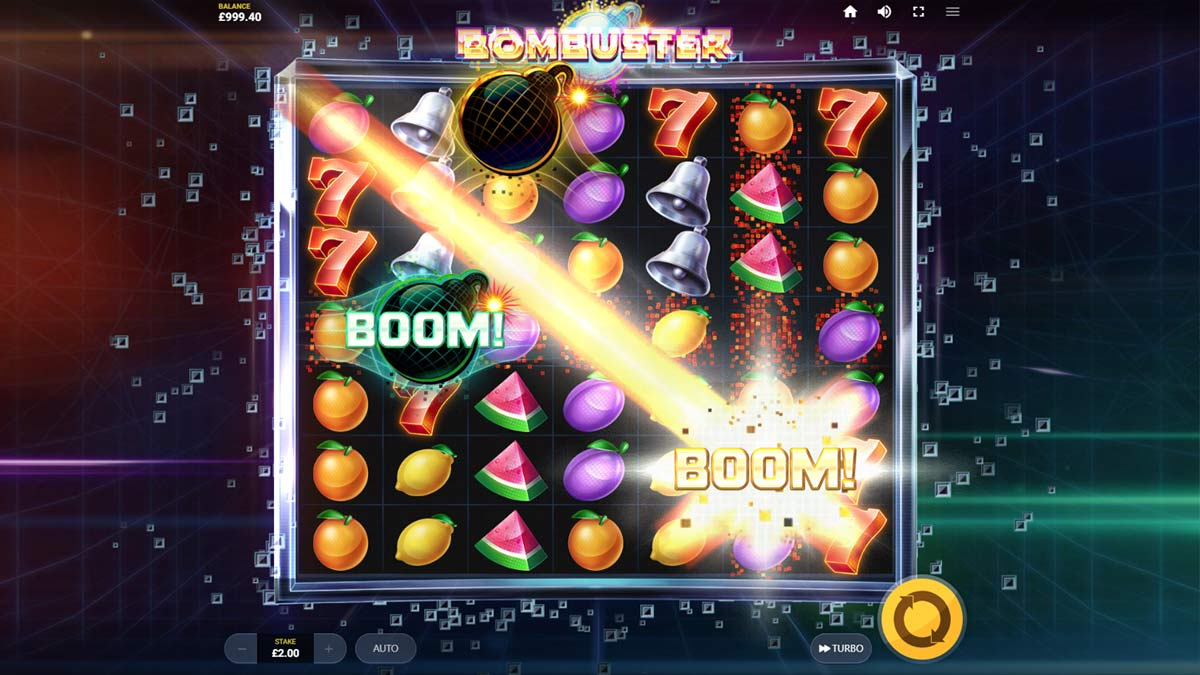 Bombuster Slot Game Play