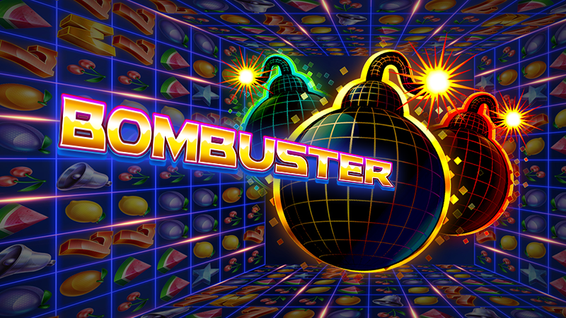 Bombuster Slot Logo Mega Reel