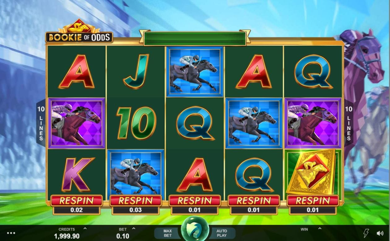 Bookie of Odds Slots UK
