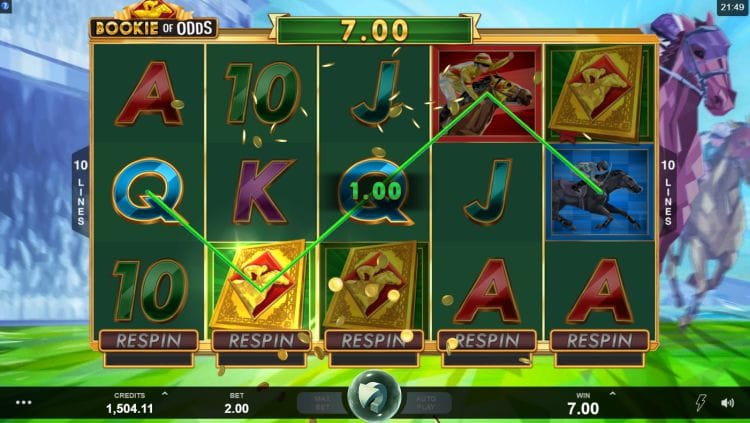 Bookie of Odds Slots Online