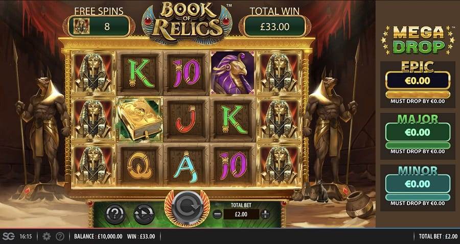 Book of Relics Slots Game