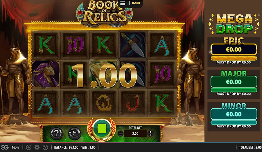 Book of Relics Slot Online